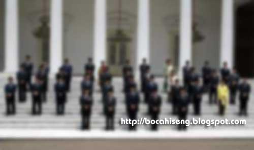 Daftar Nama Nama Menteri Susunan Kabinet Baru SBY 2011