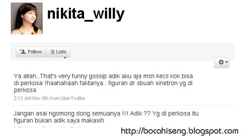 twitter nikita willy