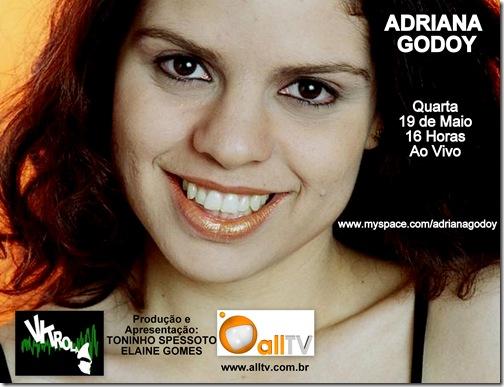 ADRIANA GODOY - Vitrola (allTV) - 19-5-2009
