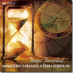 Capa CD SARANDO Tempo Favoravel