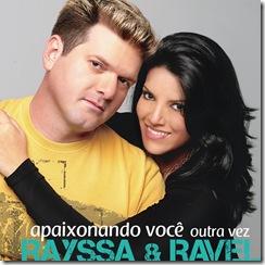 CAPA CD Rayssa e Ravel - Apaixonando Voce Outra vez