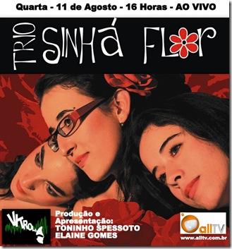 TRIO SINHÁ FLOR - Vitrola (allTV) - 11-8-2010