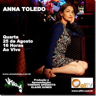 ANNA TOLEDO - Vitrola (allTV) - 25-8-2010