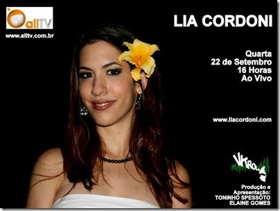 LIA CORDONI - Vitrola - 22-9-2010