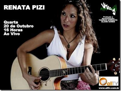 RENATA PIZI - Vitrola - 20-10-2010
