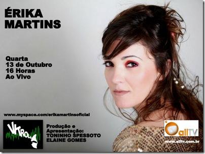 ÉRIKA MARTINS - Vitrola - 13-10-2010