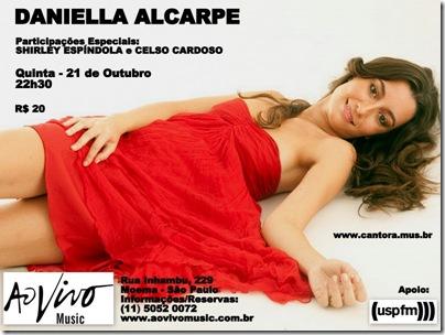 DANIELLA ALCARPE 2 - Papo de Músico - 21-10-2010