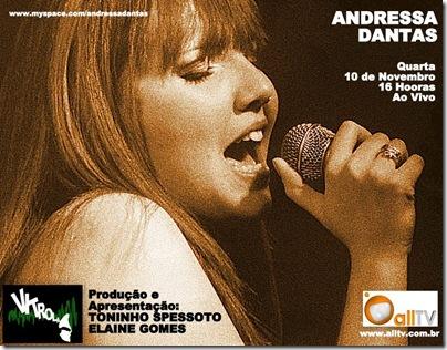 ANDRESSA DANTAS - Vitrola - 10-11-2010