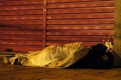 Moradores de rua são vítimas em potencial das altas temperaturas - Luiz Armando Vaz