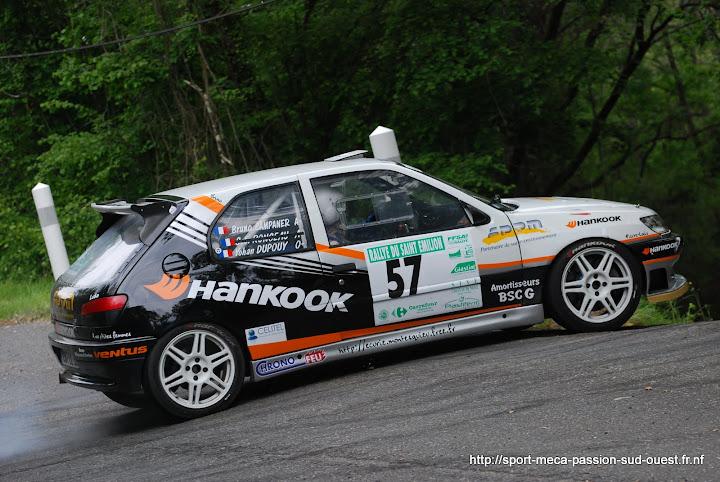 Yohan DUPOUY / Bruno CAMPANER  - 306 S16 F2/14 Rallye%20du%20Saint%20Emilion%202010%20437