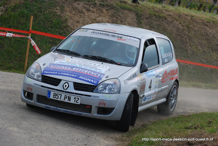 Alexis MURAT / Johan GRES - Clio RS F214 Rallye%20du%20Chasselas%202010%20013