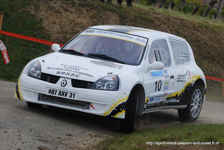 Guillaume GLADINE / Laurent TISSEDRE - R5 GT Turbo F2/14 Rallye%20du%20Chasselas%202010%20026