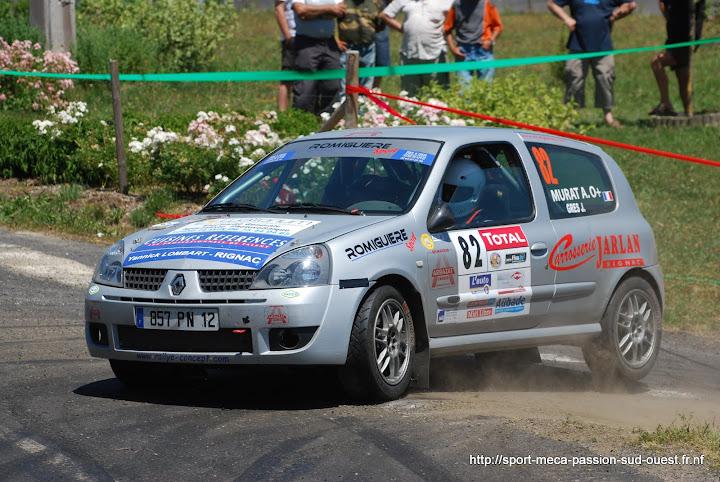 Alexis MURAT / Johan GRES - Clio RS F214 Rallye%20du%20Rouergue%202010%20947