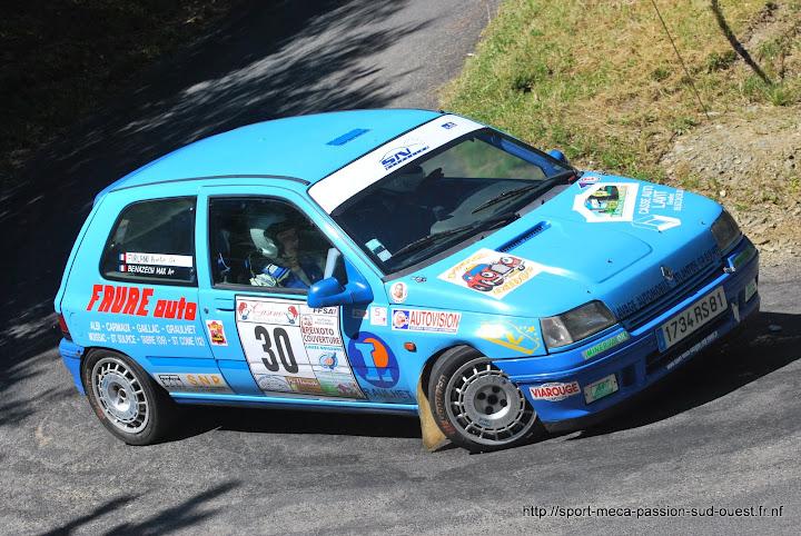 Max BENAZECH / Mathieu FAVREAU - Clio 16S FA7 Rallye%20de%20Bagnols%20les%20Bains%202010%20053