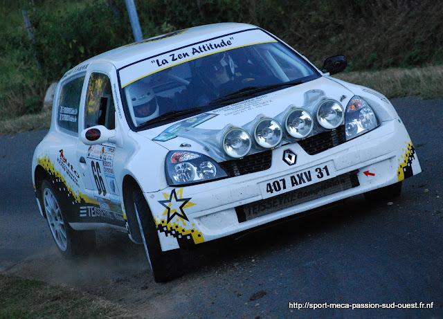 Cédric TEISSEYRE / Valérie TIRBOIS - Clio RS F214 Rallye%20de%20Bagnols%20les%20Bains%202010%20316
