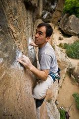 Escalando en Arico15