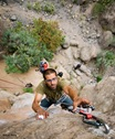 Escalando en Arico08