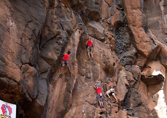 Escalada en isla de La Palma 32