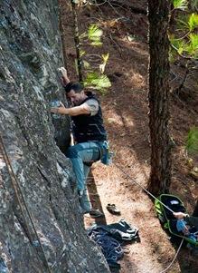 Escalar en tamadaba, rock climb, canarias18