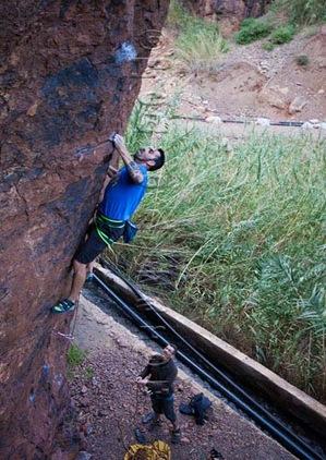 Escalar en fataga, rock climb, canarias08