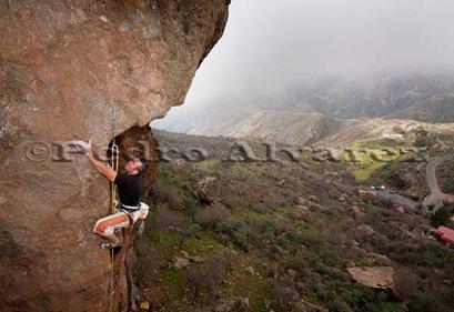 Escalar en Ayacata, candelilla, rock climb, canarias21