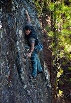 Escalar en tamadaba, rock climb, canarias21