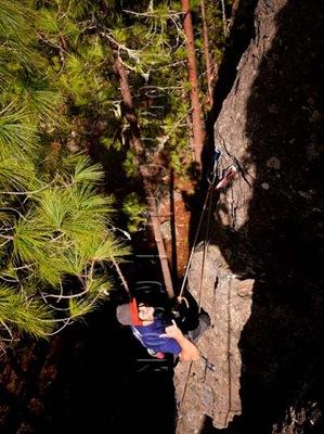 Escalar en tamadaba, rock climb, canarias15