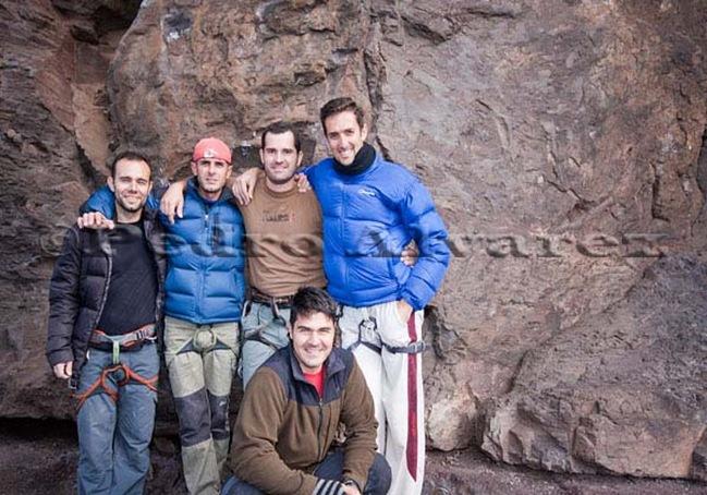 Escalar en tamadaba, rock climb, canarias06