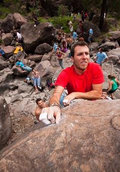 Encuentro de bloque de Mogan, boulder Mogan, Gran Canaria Boulder 011