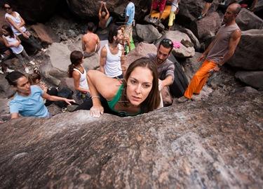 Encuentro de bloque de Mogan, boulder Mogan, Gran Canaria Boulder 002