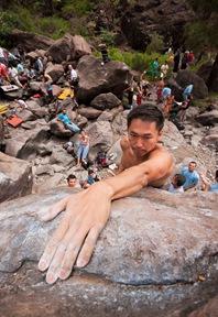 Encuentro de bloque de Mogan, boulder Mogan, Gran Canaria Boulder 004