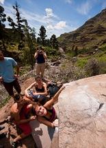 Encuentro de bloque de Mogan, boulder Mogan, Gran Canaria Boulder 026