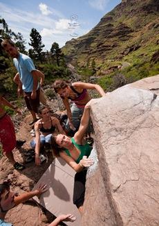 Encuentro de bloque de Mogan, boulder Mogan, Gran Canaria Boulder 009