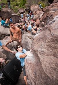 Encuentro de bloque de Mogan, boulder Mogan, Gran Canaria Boulder 022
