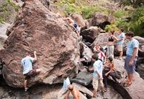 Encuentro de bloque de Mogan, boulder Mogan, Gran Canaria Boulder 019