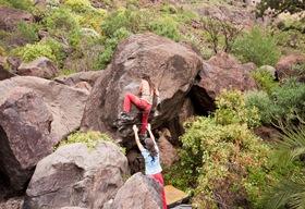 Encuentro de bloque de Mogan, boulder Mogan, Gran Canaria Boulder 035