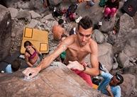 Encuentro de bloque de Mogan, boulder Mogan, Gran Canaria Boulder 055