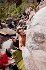 Encuentro de bloque de Mogan, boulder Mogan, Gran Canaria Boulder 073