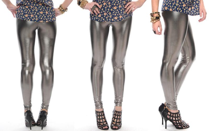 Legging Metalizada