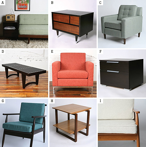 uo midcentury furniture Mid Century Furniture