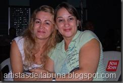 Cida Lisboa e Marisa Mendes