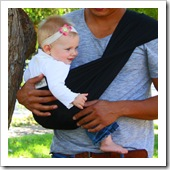 Black Baby Sling Guy Thumb