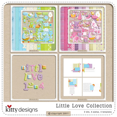 Little Love Collection by Kitty Chen