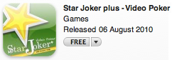 star joker plus-video poker