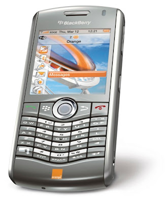 BlackBerry 8120 Orange