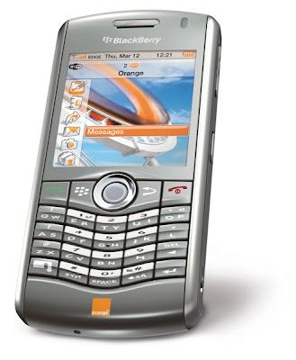 BlackBerry 8120 Orange