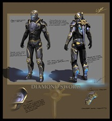 Tribes: Ascend concept art - Diamond Sword