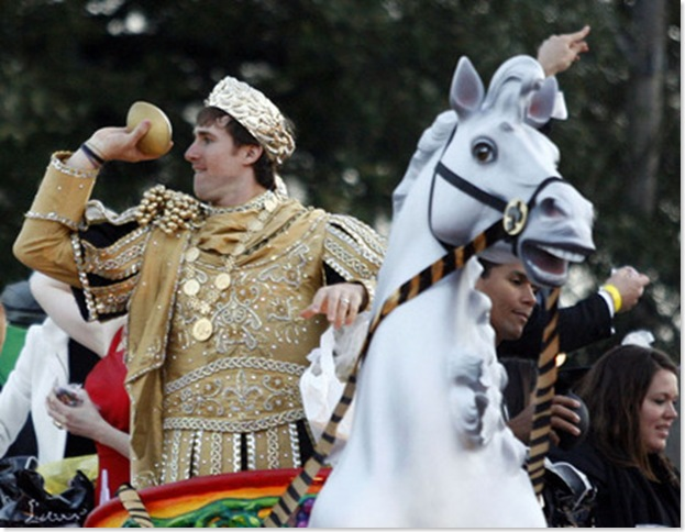 Drew Brees Reigns over Bacchus