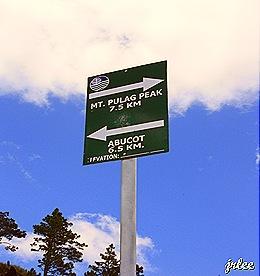 mt. pulag peak, 7.5 km