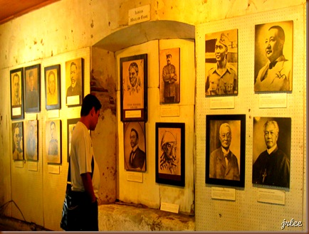 portraits of prominent figures in Philippine history